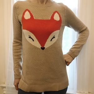 db016c95885 Lands  End Shirts   Tops - Land s End Knitted fox sweater